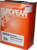 EGCB160/4 Полиэфирный биндер U-Pol для базовых покрытий, 4л