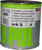 2К 4:1 Акриловый грунт-наполнитель S2025 U-Pol HS белый, 1л