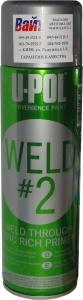 """Купить Грунт провариваемый с """"ЦИНКОМ"""" для сварочных работ WELD#2™ U-Pol (серия Convenience), цинк - Vait.ua"""