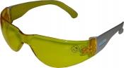 Защитные очки Venitex BRAVAJA100 с монолинзой, желтые