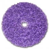 XT-DC Круг пурпурный обдирочный 3M Scotch-Brite Clean'n'Strip™ PURPLE для зачистки, 150мм x 13мм