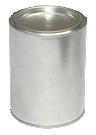 Купить Банка металлическая для лакокрасочной продукции, 0,9л - Vait.ua