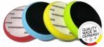 003-00111 Круг полировальный Medium Cut на липучке MENZERNA 180мм, PREMIUM, средней жесткости, желтый