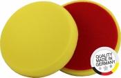 """Круг полировальный MENZERNA крепление """"липучка"""", d150мм, плоский, средний, желтый"""