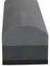 """Шлифовальная колодка """"Вайт"""" (серия """"VTP""""), вид C, ''Profi'', серая, полукруглая, 140х45х40мм"""