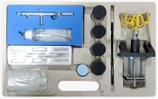 Аэрограф AirPro UK131B с бачком 90мл, дюза 0,3мм + набор аксессуаров