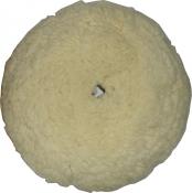 Полировальный круг Cartec, шерсть, Soft Cutting диаметр 150мм (на липучке)