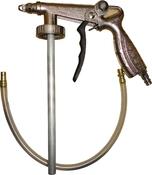Пистолет-распылитель DDCars PS-6 для антигравийных и антикоррозионных покрытий, всасывающий UBS, пневматический