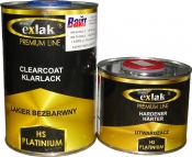 2К акриловый лак EXLAK HS Platinium (Premium line) (1л) + отвердитель (0,5л)