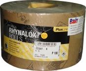 Абразивная бумага в рулоне на латексной основе INDASA RHYNALOX PLUS LINE (Плюс линия), 115мм x 50м, P100
