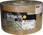 Абразивная бумага INDASA RHYNODRY WHITE LINE (Белая линия) в рулонах стойкая к износу 115мм x 50м, P240