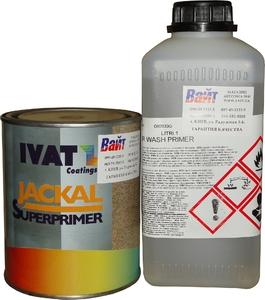 Купить Грунт протравливающий Ivat Wash Primer 1:1, 1л + отвердитель 1л - Vait.ua