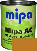 """208 Акриловая 2К автоэмаль Mipa """"Охра золотая"""" в комплекте с отвердителем"""