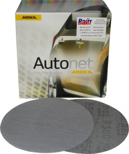 Купить Шлифовальные диски на сетчатой основе Autonet, P500, 150мм - Vait.ua