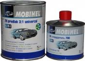 MOBIHEL 2K грунтовка 3:1 универсальная low VOC (0,75л) + отвердитель 700 (0,25л), серая