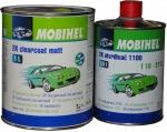 2К Акриловый матовый лак Mobihel (1л) + отвердитель 1100 (0,5л)