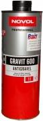 37841 Антигравийное покрытие MS - Novol GRAVIT 600 черное, 1кг