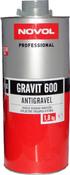 37844 Антигравийное покрытие MS - Novol GRAVIT 600 черное, 1,8кг