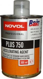 Купить Ускоритель для акриловых продуктов стандарт NOVOL PLUS 750, 0,3л - Vait.ua
