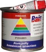 Шпатлёвка с алюминием Pyramid STANDART ALUM PUTTY, 0,25 кг