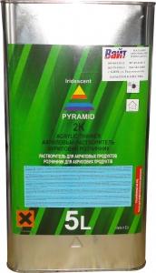 Купить Растворитель акриловый PYRAMID в металлической таре, 5л - Vait.ua