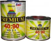 2К акриловый лак Pyramid HS PREMIUM 40:90 (1л) + отвердитель (0,5л)