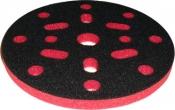 """Мягкая подложка """"Вайт"""", d150мм, 10мм (16+1 отверстий), красная"""