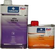 Акрил-полиуретановый лак Roberlo ELITE 350HS (1л) + отвердитель C355 (0,5л)