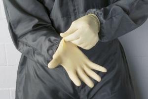 Купить Одноразовые перчатки на латексной основе SATA, 100 шт. - Vait.ua