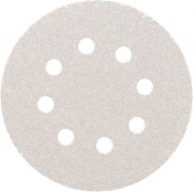 Абразивный диск для сухой шлифовки SMIRDEX White Dry (серия 510), диаметр 125 мм, P80