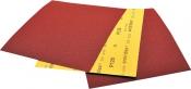 Абразивный лист для мокрой и сухой шлифовки SMIRDEX (серия 275) 230 х 280 мм, Р80