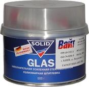 Шпатлёвка усиленная стекловолокном SOLID GLASS, 0,5 кг