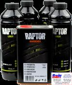 """2K защитное покрытие повышенной прочности 4:1 RAPTOR Truck bed liner """"Черное"""""""