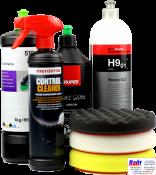Control Cleaner Menzerna + три любых полировальных круга + три любые полировальные пасты