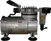 MC-1100HFGM Миникомпрессор SUMAKE низкого давления с фильтром и шлангом 1/8HP