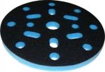 """Мягкая подложка """"Вайт"""", d150мм, 10мм (16+1 отверстий), синяя"""