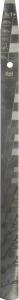 Купить Лопатка для измерения пропорций смешивания эмалей, лаков, грунтов. Пропорции 2:1 и 5:1, 278х19х2 - Vait.ua