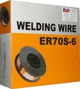 "Проволока омеднённая сварочная WELDING WIRE ER70S-6 аналог ""CB08Г2С"" (диаметр 0,8мм), 5кг"