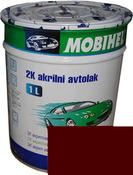 """140 Эмаль акриловая Helios Mobihel """"Яшма"""" (1л) в комплекте с отвердителем 9900 (0,5л)"""